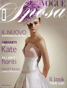 TESSUTIMANOMESSI su VOGUE SPOSA  (giugno 2011)